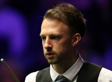 Snooker star Judd Trump.