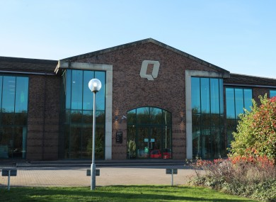 Quinn Industrial Holdings (QIH) offices in Derrylin in County Fermanagh