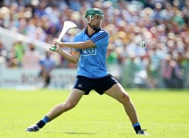 Ex-Dublin defender Michael Carton in action in 2014.