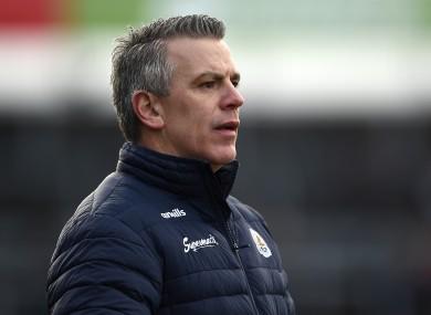 Galway senior football boss Pádraic Joyce.