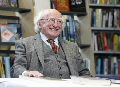 A review of the first year of Michael D Higgins' second term as president has been published.