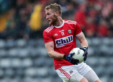 Ruairi Deane has become a key player for Cork in recent seasons.