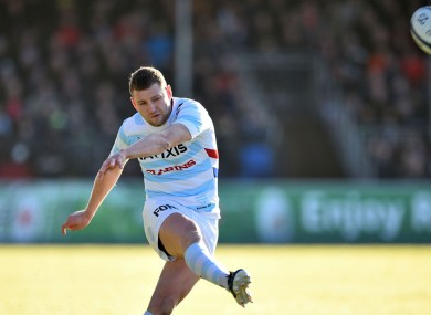 Racing 92 and Scotland fly-half Finn Russell.