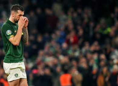 Ireland's game with Slovakia is now in doubt along with many other sporting fixtures.