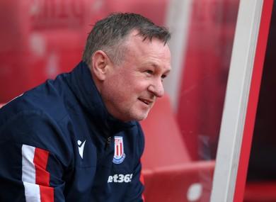Stoke and Northern Ireland boss Michael O'Neill.