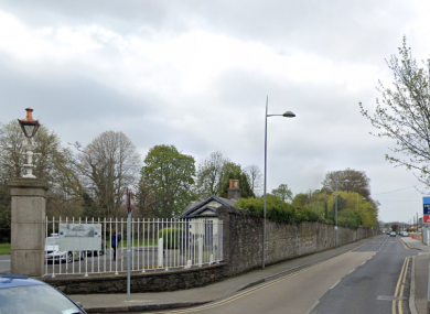 The incident happened on Blackhorse Avenue which runs beside the Phoenix Park.