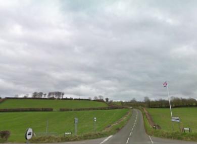 The Springmount Road in Ballymena.