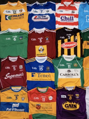 Paul Coady has collected signed jerseys from 16 top inter-county hurlers.