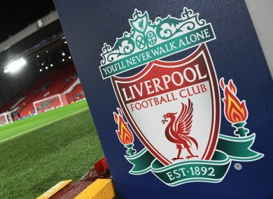 The Liverpool logo.
