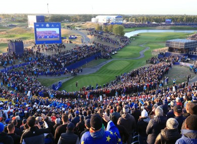 Ryder Cup: Players believe the event relies on the atmosphere generated by spectators.