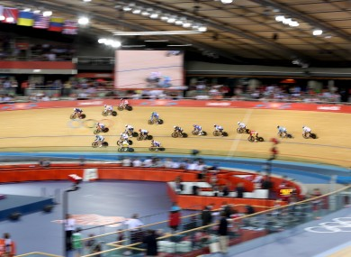 A general view of a Velodrome.