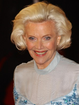Honor Blackman in 2005.