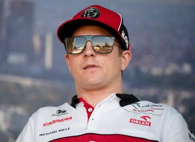 Kimi Räikkönen (file pic).