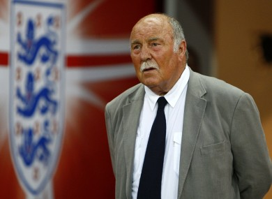 A file photo of Jimmy Greaves from 2009.