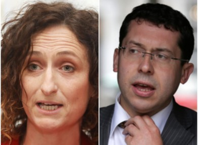 SF Lynn Boylan and Ind Ronan Mullen who have both won Seanad seats today
