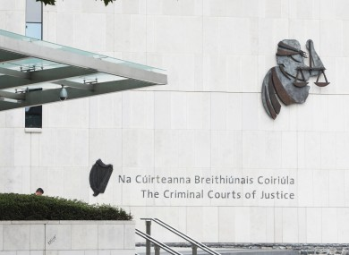 The Criminal Courts of Justice in Dublin City.