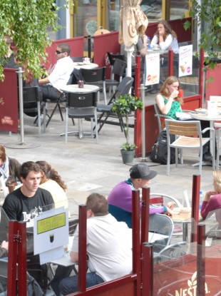 Dublin City Council says it is reviewing rules in relation to outdoor seating due to social distancing guidelines.