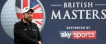 Shane Lowry competing at the British Masters at Close House in 2017.