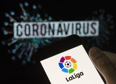 La Liga's restart is slated for 12 June.