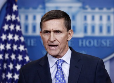 Ex-National Security Adviser Michael Flynn