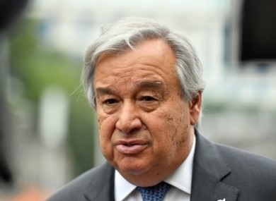 United Nations Secretary-General António Guterres bemoaned the lack of leadership and cooperation in the face of the coronavirus pandemic.