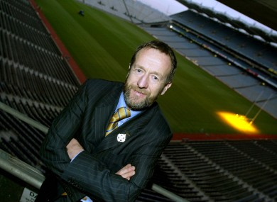 Former GAA President Sean Kelly.