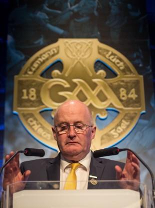 GAA president John Horan (file pic).