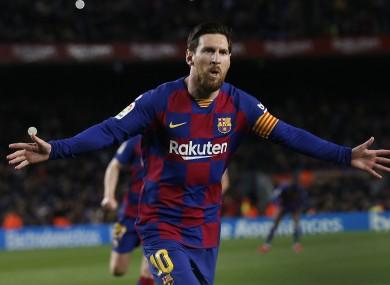Lionel Messi, file photo.