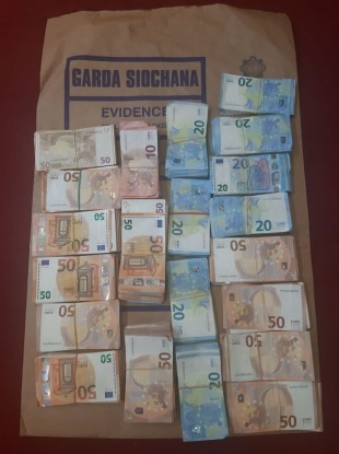 €100,000 in cash was seized during the joint operation.