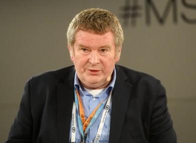 Michael J. Ryan, Executive Director of the World Health Organization.