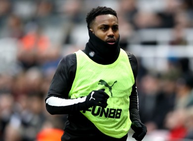 Danny Rose is currently on loan at Newcastle from Tottenham.