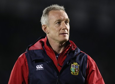 Howley has worked as assistant coach with Wales and the Lions.
