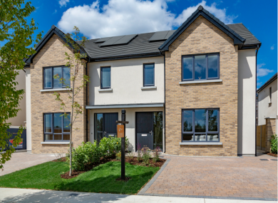 This three-bedroom show home is among those available