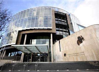 The Courts of Criminal Justice in Dublin.