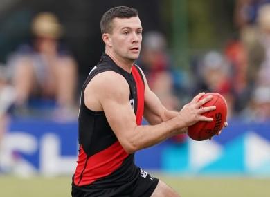 Essendon player Conor McKenna (file photo)