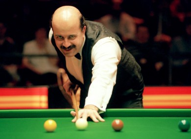 Thorne in action at the Crucible back in 1994.