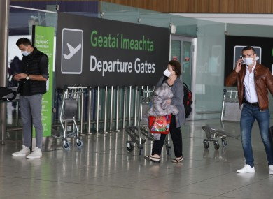 File photo. Dublin Airport terminal 2 in April.
