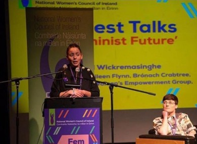 Traveller activist Eileen Flynn is one of Martin's nominees.