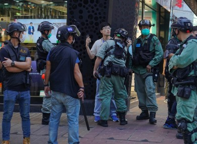 Hong Kong has seen repeated protests over China's moves to gain greater control of the semi-autonomous region.