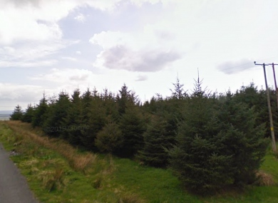 An area close to Lisdoonvarna and Fanore in Co Clare where the incident occurred yesterday.