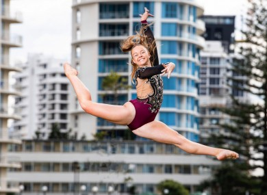 Hollie-Kate Melia from Kildare has just been named Australian Aerobic Gymnast of the Year.