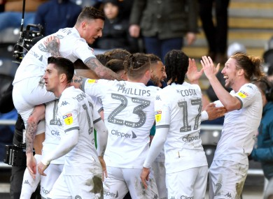 Leeds currently sit top of the table and are on course for promotion.