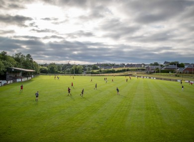 Club players in Louth return to training this week