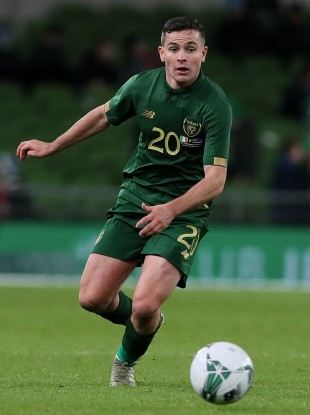 Josh Cullen won his second senior cap for the Republic of Ireland in last November's friendly against New Zealand.