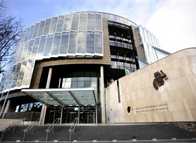 File photo of Criminal Courts of Justice in Dublin