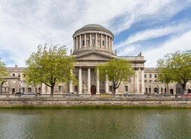 File photo of the Four Courts building in Dublin city.