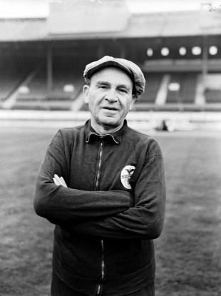 Bela Guttmann, Benfica coach.