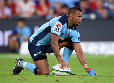Beale played a record-equalling 148 times for the Waratahs.