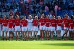 The Cork ladies team.