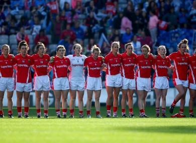 The Cork ladies team.